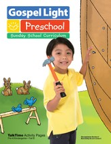 Preschool PreK and Kindergarten Activity Pages Ages 4 & 5 Fall 2014 Year B