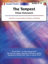 The Tempest, Novel Units Student Packet, Grades 9-12
