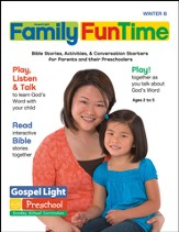 Preschool Family FunTime Pages Ages 2 - 5 Winter 2014-15 Year B