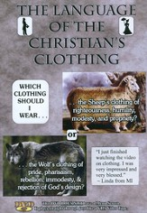 The Language of the Christian's Clothing DVD