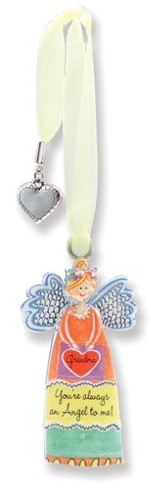 Grandma, Keepsake Angel with Charm