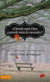 ¿Dónde Está Dios Cuando Mas Lo Necesito?  (Where Is God When I Need Him Most)