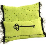 I Will Give You the Keys To the Kingdom Pillow