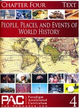 People, Places, & Events of World History Chapter Four Text