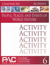 People, Places, & Events of World History Chapter 6 Activities