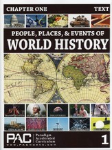 People, Places & Events of World History--Full Course Kit