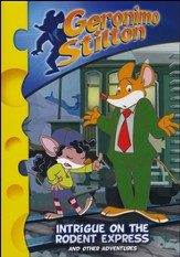 Geronimo Stilton: Intrigue on the Rodent Express, DVD