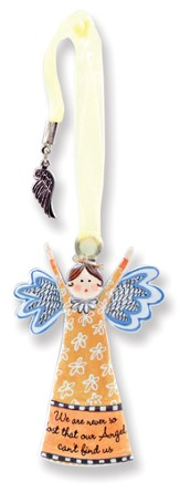 Never So Lost, Keepsake Angel with Charm