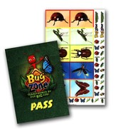 Bugzone Passes With Stickers (Package 10) - Slightly Imperfect