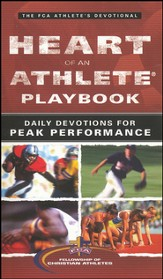 Heart of an Athlete Playbook: Daily Devotions for Peak Performance - Slightly Imperfect
