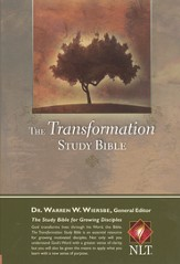 The NLT Transformation Study Bible - imitation leather, brown