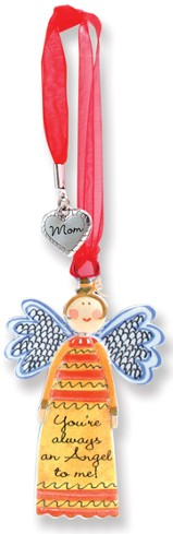 Always an Angel, Keepsake Angel with Mom Charm