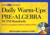 Daily Warm-Ups: NCTM Standards: Pre-Algebra with CD-Rom