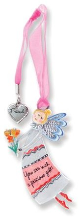 Precious Gift, Keepsake Angel with Friend Charm