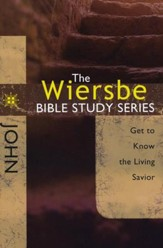 John: The Warren Wiersbe Bible Study Series