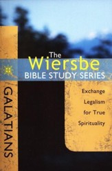 Galatians: The Warren Wiersbe Bible Study Series  - Slightly Imperfect