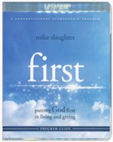 First: Putting God First in Living and Giving--Program Guide with Flash Drive