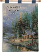Come With Me To A Quiet Place Wallhanging