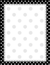Black & White Dots Paper
