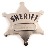 SonWest Roundup: Sheriff Badge-Pkg of 12