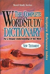 The Complete Word Study Dictionary, Scripture Reference Index  - Slightly Imperfect