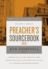 Nelson's Annual Preacher's Sourcebook 2016 - eBook