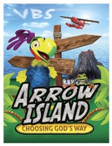 Arrow Island Theme Postcards, pack of 100