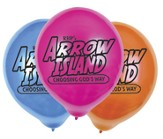 Arrow Island Logo Balloons, pack of 25