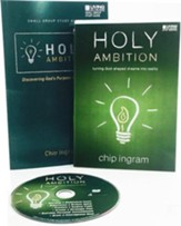 Holy Ambition Personal Study Guide Kit (1 DVD Set & 1  Study Guide)