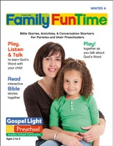 Preschool Family FunTime Pages Ages 2 - 5 Winter A
