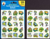 Animal Stickers, pack of 120