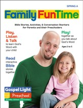 Preschool Family FunTime Pages Ages 2 - 5 Spring A