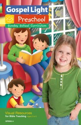 Preschool Visual Resources for Bible Teaching Ages 2 - 5 Spring A
