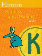 Horizons Phonics & Reading, Grade K, Student Workbook 2