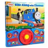 Thomas & Friends: Ride Along With Thomas Steering Wheel Book