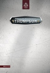 RVR 1960 Thompson Chain, Bonded Leather, Black Imperfectly Imprinted