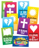 VBS 2015 SonSpark Labs - Pennants, Pack of 12