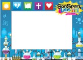 VBS 2015 SonSpark Labs - Photo Frame, Pack of 12