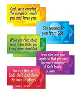 VBS 2015 SonSpark Labs - Big Q&A Signs, Pack of 5