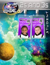 To The Edge VBS 2015: 2s & 3s Student Activity Sheets, KJV