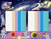 To The Edge VBS 2015: Attendance Chart
