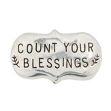 Count Your Blessings Pewter Magnet