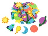 To The Edge VBS 2015: Foam Space Stickers, Pack of 500
