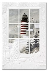 West Quoddy Lighthouse Cards, Box of 16