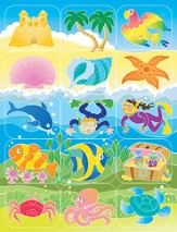 VBS 2014 SonTreasure Island- Island Assortment Stickers 150 Pack