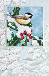 Charming Chickadees Cards, Box of 16