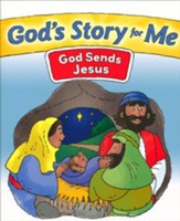 God's Story for Me: God Sends Jesus mini book