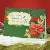 I Said A Christmas Prayer For You Christmas Cards, Package of 25