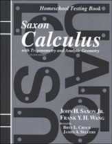 Saxon Calculus Answer Key and Tests, 2nd Edition