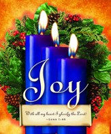 Advent Sunday 3 Blue Bulletins, Large Size (Package of 50)